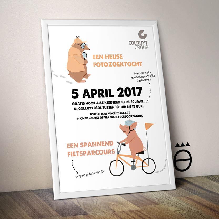 Poster Event Colruyt Mol