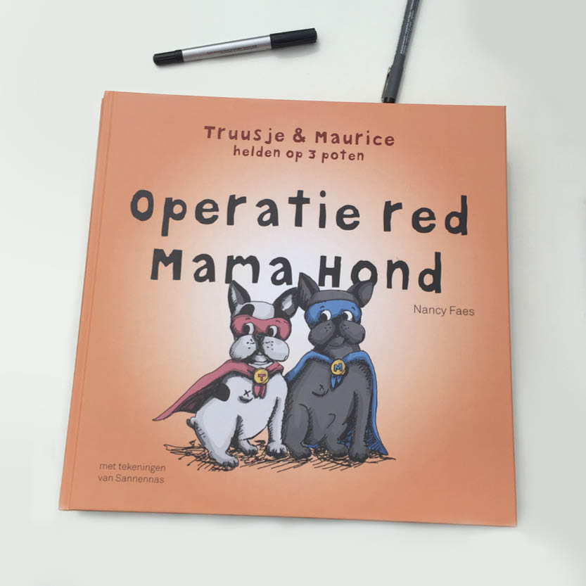 Truusje & Maurice - Helden op 3 poten - boekcover