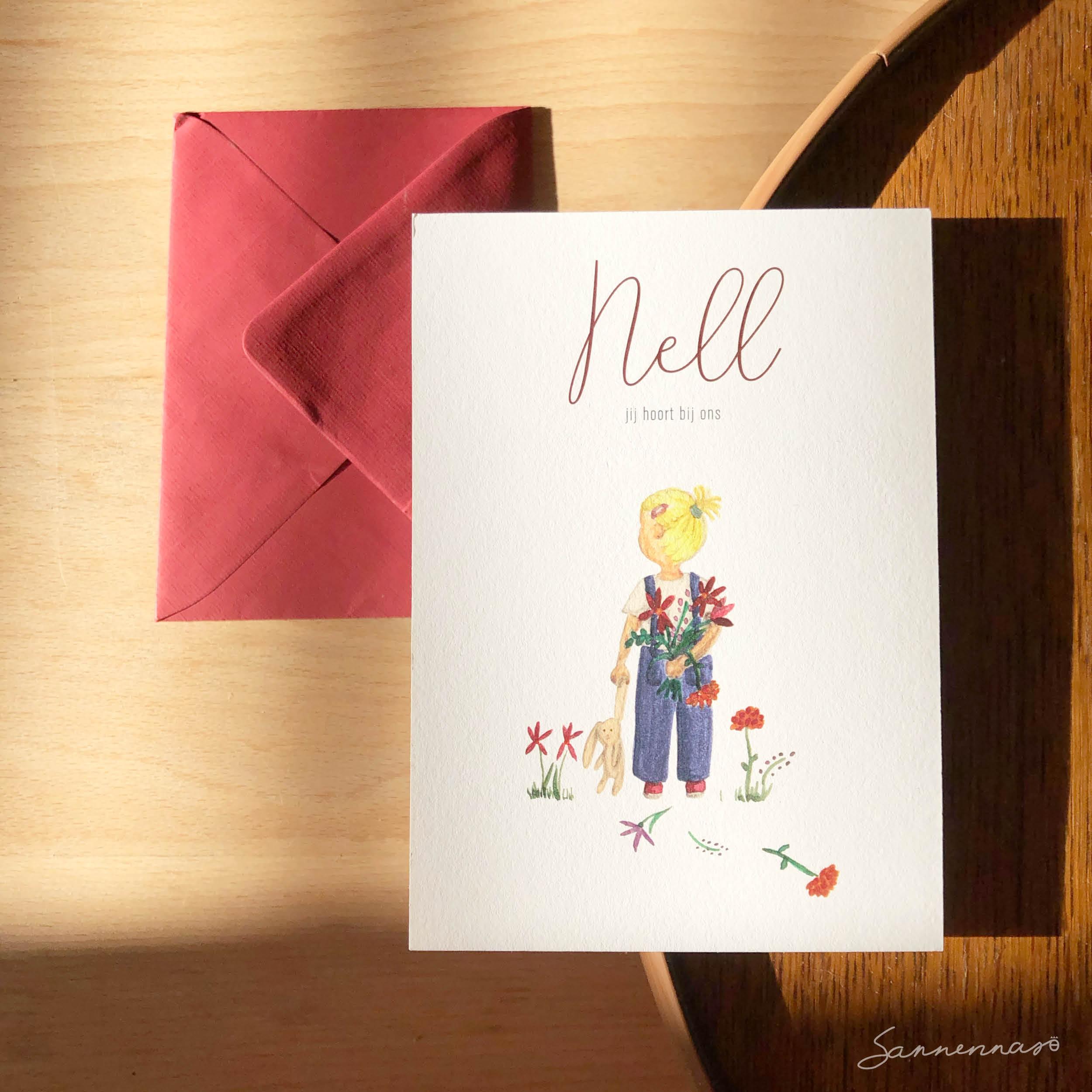 geboortekaartje-Nell2