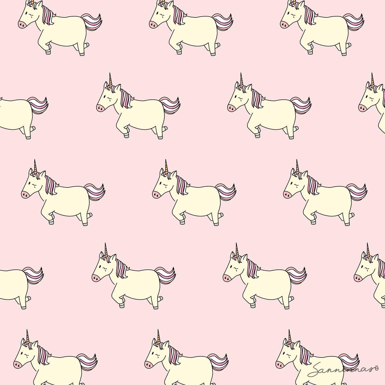 backdrop Chubby Unicorn